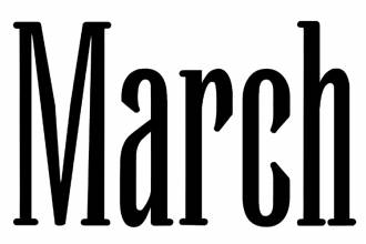 Newsletter: Marzo  2018